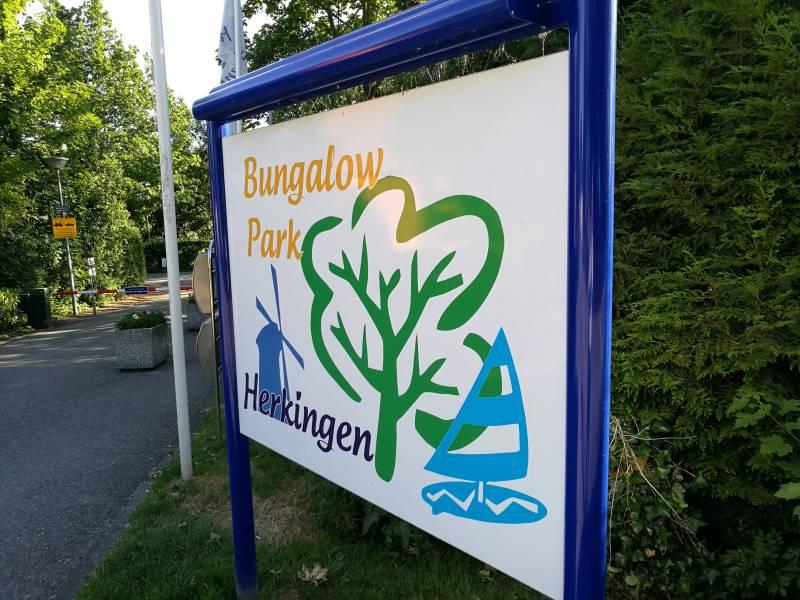 Bungalowpark Herkingen Welkomsbord